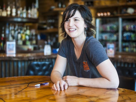 Liz Carr, co-owner of Tall Boys Tavern in Hobson, bought