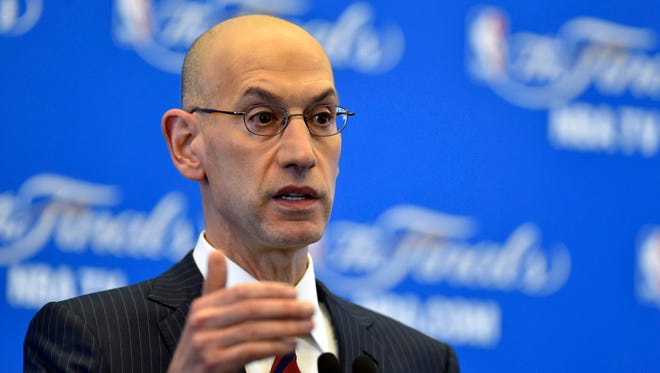 NBA commissioner Adam Silver and the players' union agreed on a new seven-year CBA.