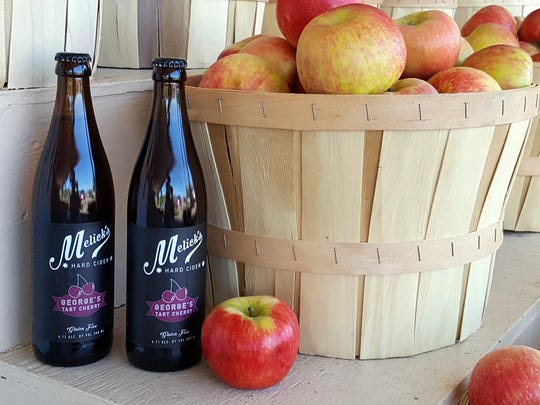 Cider from Melick's Town Farm.