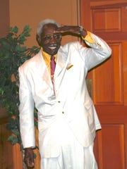 Raleigh Wynn Sr. at a dinner given in his honor in Knoxville in 2011.