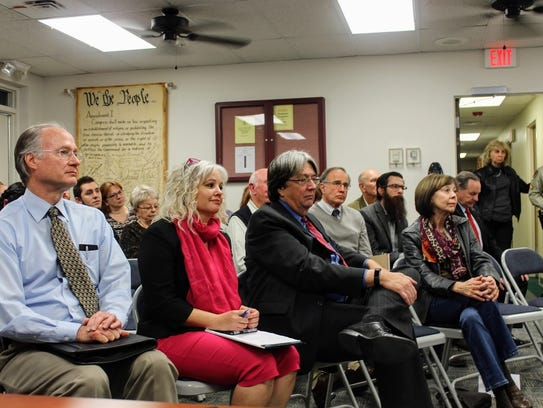In this Jan. 12 photo, 12th Judicial District Judge