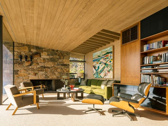 Edris House, a mid-century home in Palm Springs designed