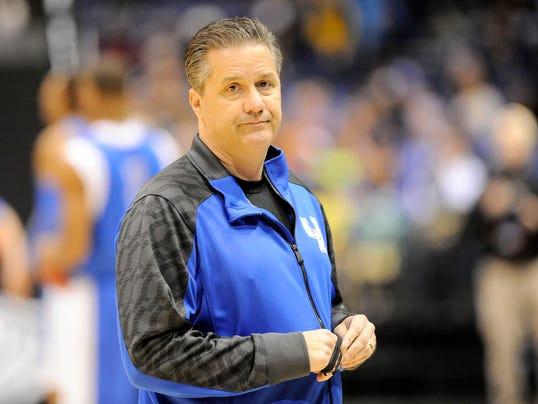 USP NCAA Basketball_ NCAA Tournament-Kentucky Prac