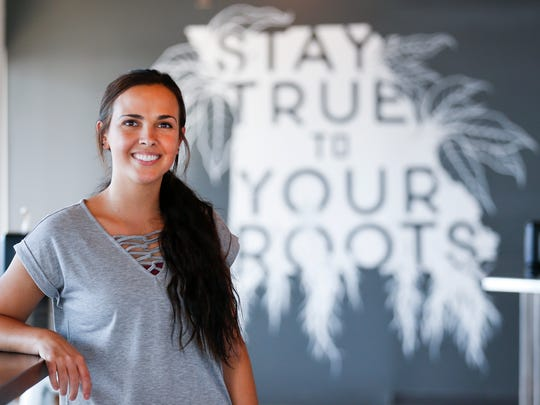 Britny Washburn opened her new cafe, Roots Coffee Bar, at 1645 W. Republic Road on July 3, 2018.