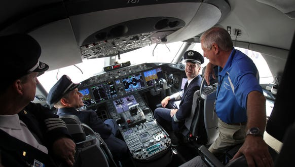 Airlines Face A Pilot Shortage Boeing Report Says