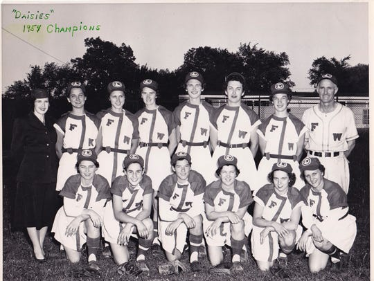 Jean Havlish (front row, second from left) was an