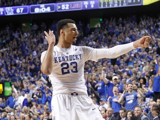 Kentucky Wildcats guard Jamal Murray is one of the