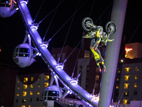 Mike Mason, from Minden, will ride in Nitro Circus