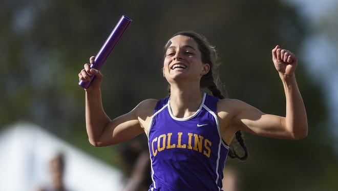Fort Collins High School's Becca Schulte won a state title in the 400 and 1,600 relay last season.