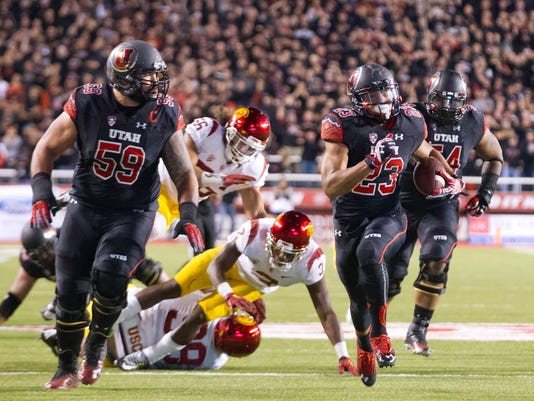 NCAA Football: Southern California at Utah