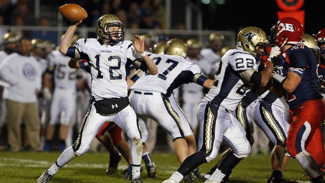 Quarterback Bruce Schroeder and Appleton North will take on host Bay Port on Friday in a WIAA Division 1, Level 3 football matchup.