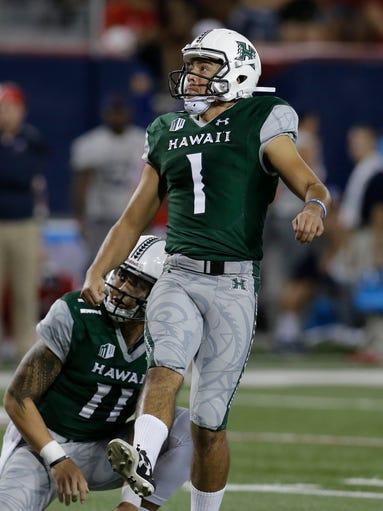 Arizona football vs. Hawaii