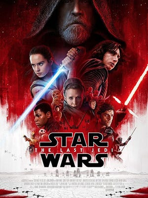 """Star Wars: The Last Jedi"" will be screened Friday, July 20, at Whitney Park in St. Cloud."