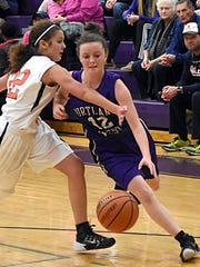 Portland West Middle School guard Lillie Whitehead