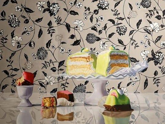 """Crazy Cakes"" by Denise Stewart-Sanabria."
