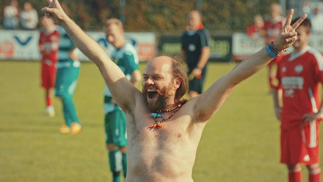 """The film """"The Streaker"""" is a mad-cap comedy about a team of streakers, whose goal is to disrupt soccer games."""