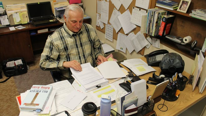 Mayor Bruce Powell acknowledges some problems the city of Bull Shoals has dealt with during his tenure in office, particularly the past year, but says he still loves the community. Powell's last day will be Dec. 31 at City Hall.