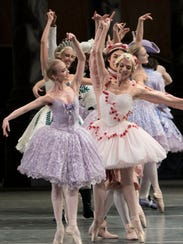 The American Ballet Theater performs during the first