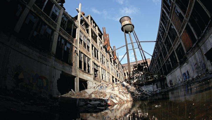 Detroit's Packard Plant rehab breaks ground next month