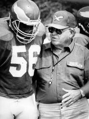 Buddy Ryan head coach for the Philadelphia Eagles in