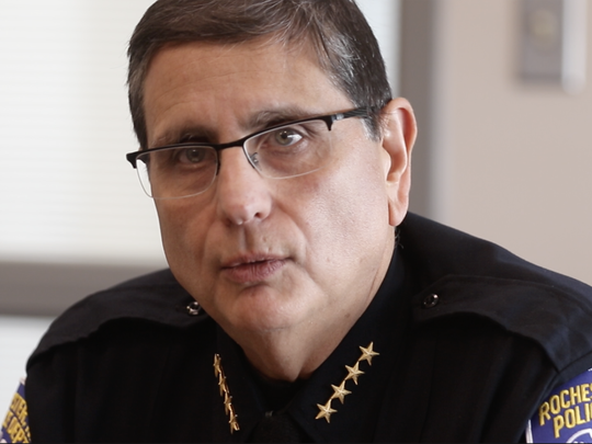 Rochester Police Chief Michael Ciminelli talks about