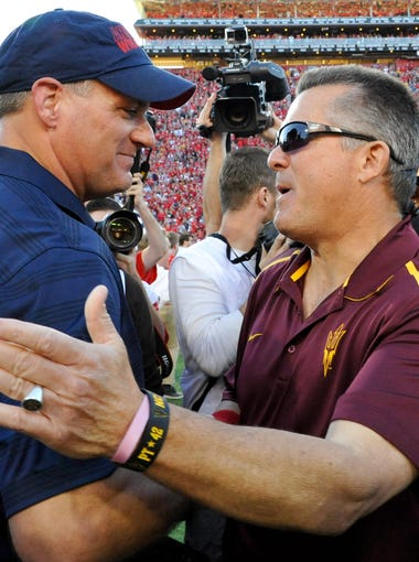 Can ASU make the College Football Playoff? Can Arizona win another division crown? USA TODAY Sports' Paul Myerberg breaks down each Pac-12 team's range of possibility in 2015.