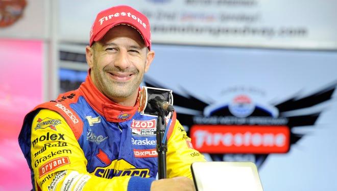 Tony Kanaan won the Indianapolis 500 driving for KV Racing this year.