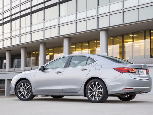 The 2015 Acura TLX replaces the TSX and TL.