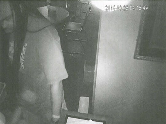"""Police released footage of a man """"being sought for questioning"""" in a deadly nightclub shooting."""