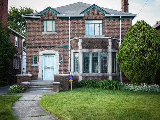 This Russell Woods neighborhood home in Detroit will