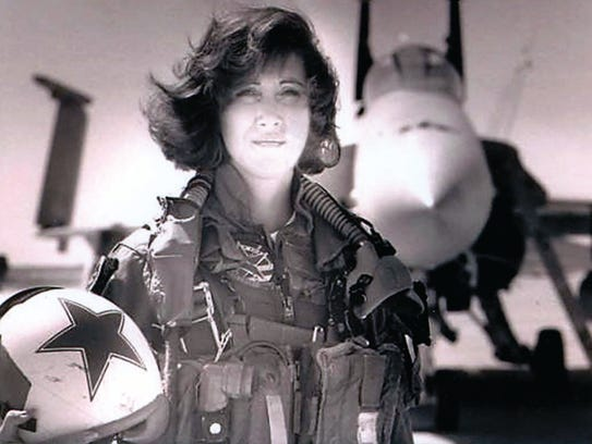 This is Tammie Jo Shults from the early 1990s. As one