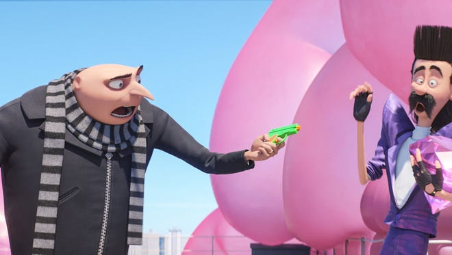 """Illumination Entertainment Steve Carell returns as the voice of Gru in the animated """"Despicable Me 3."""" Steve Carell returns as the voice of Gru in the animated """"Despicable Me 3."""""""