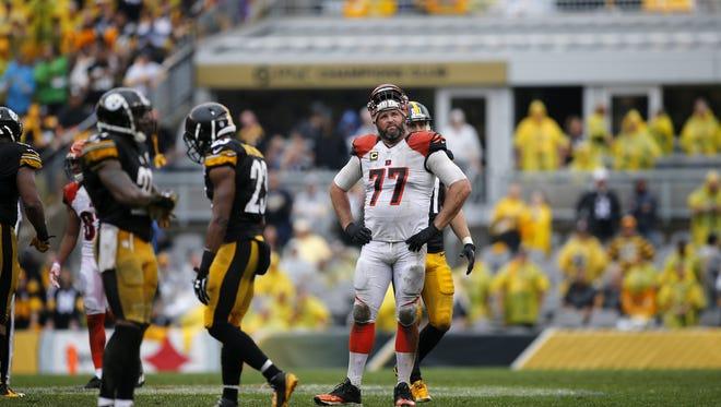 Cincinnati Bengals tackle Andrew Whitworth remains in concussion protocol.