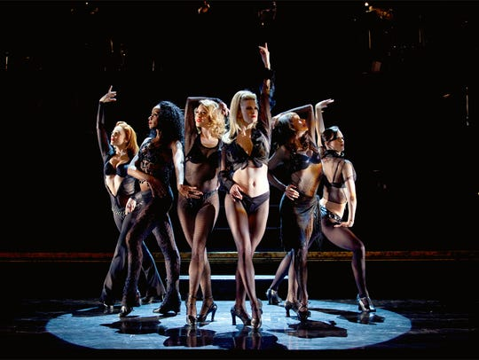 "The women of the musical, ""Chicago."""
