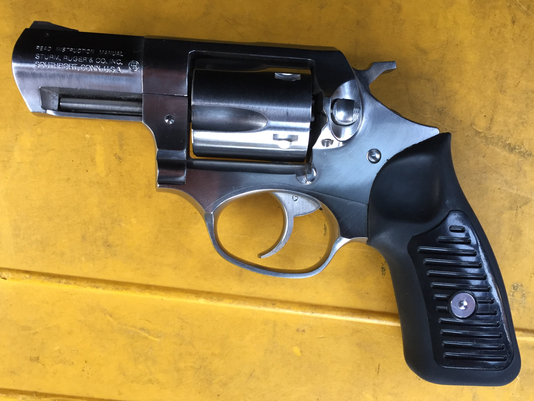 Confiscated Firearm