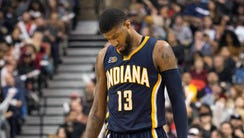 Paul George was traded to the Thunder this summer,
