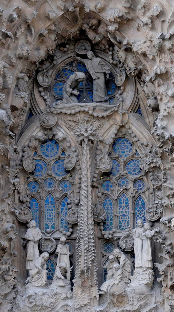 Sagrada Familia detail