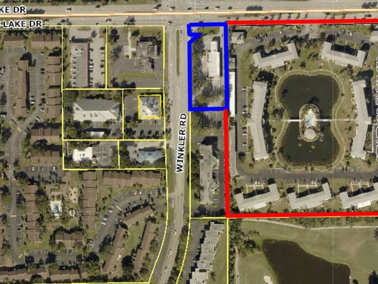 Proposed 7-Eleven at Winkler Road and Cypress Lake