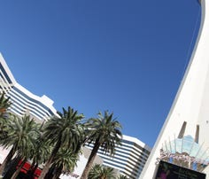 Stratosphere towers over modern Vegas