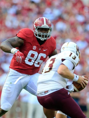 Alabama Crimson Tide defensive lineman A'Shawn Robinson is the last person Connor Cook wants to see bearing down on him during the Cotton Bowl.