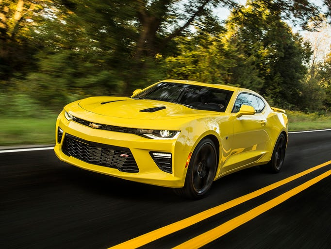 For 2016, the Camaro borrowed its leaner, stiffer platform