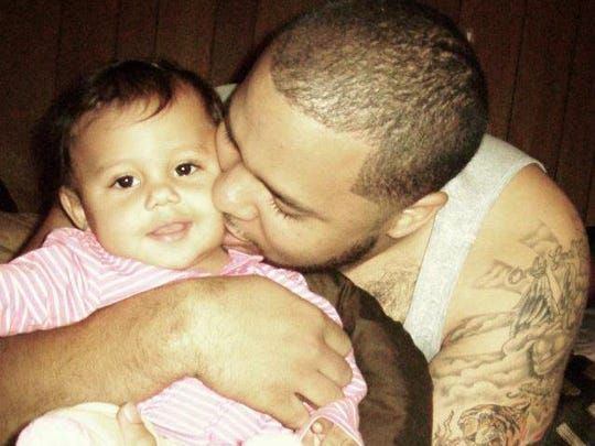 Homicide victim Max Levine is shown with his daughter, Maddison Levine, now 3.