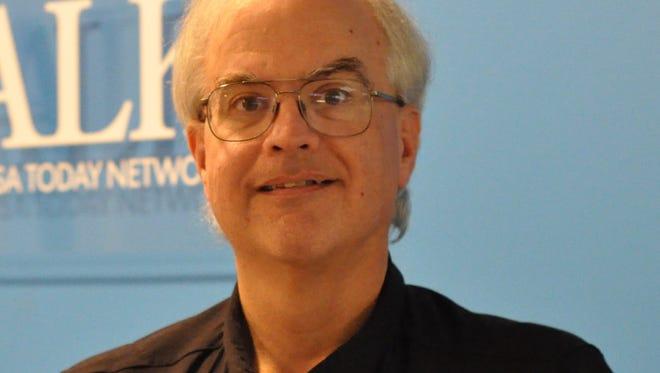 Jim Smilie, Town Talk news director.