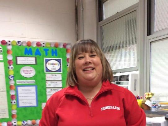 Laurie Mann, Faber School teacher of the year.