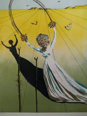 "Salvador Dali's ""Dream Passage"""