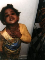 This is a submitted photo of TaJanay Bailey, 3, who was found dead Nov. 27, 2007 in the Phoenix Apartments complex home she lived in with her mother, Charity Bailey, 20, and her mother's live-in boyfriend Lawrence Green, 20. The pair are charged with her murder. Photos provided by TaJanay's former foster mother Janice Springfield on Nov. 30, 2007.