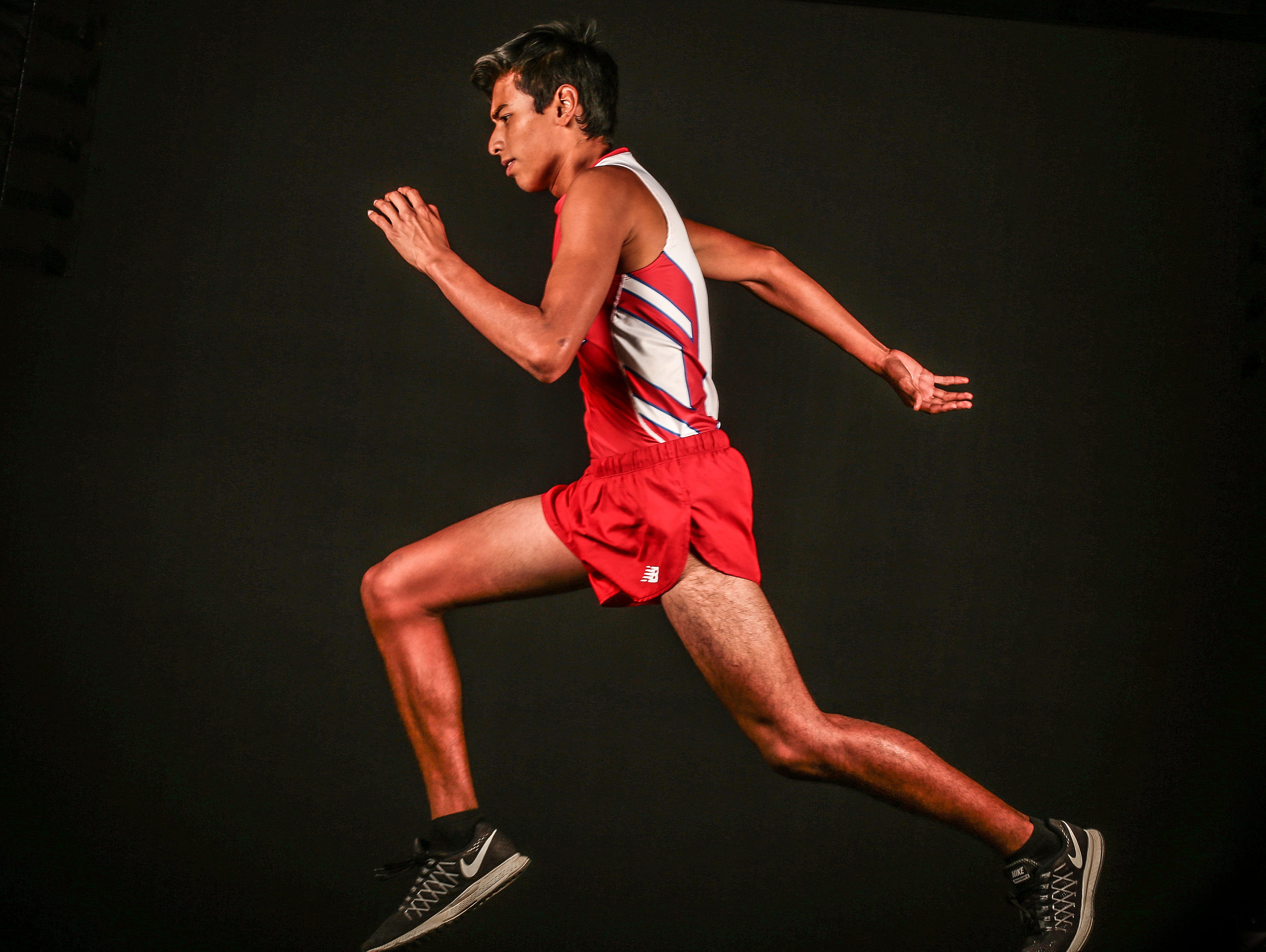 Indio's Luis Barrera was the valley's top boys' cross country runner of the year.