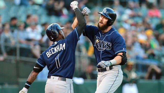"""""""We love to be flying under the radar,"""" says Steven Souza Jr., who slammed his 19th home run Monday night."""