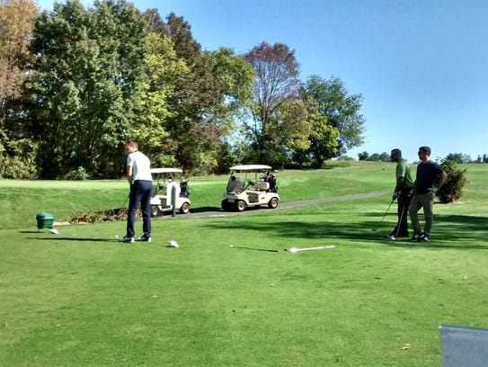 Recent golf outing at the Hillsborough Golf and Country