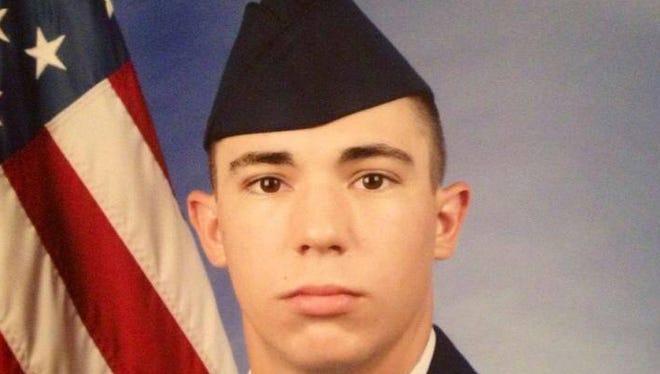 File photo of Airman First Class Michael Davidson